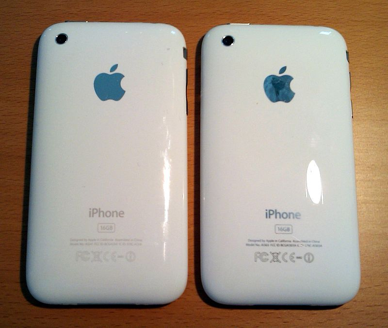 IPhone 3G and iPhone 3G S