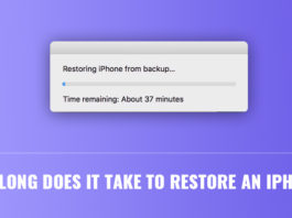 How Long Does It Take to Restore an iPhone?