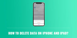 How to Delete Data on iPhone and iPad?