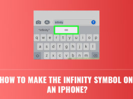 How to Make the Infinity Symbol on an iPhone