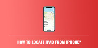 How to locate iPad from iPhone?