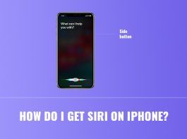 get siri on iphone