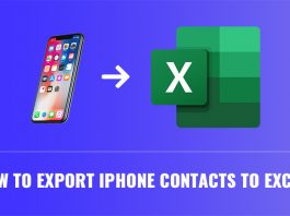 exporting iphone contacts to excel