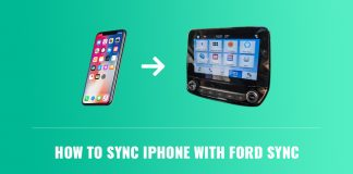 connect iphone to ford sync