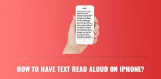 How To Have Text Read Aloud on iPhone