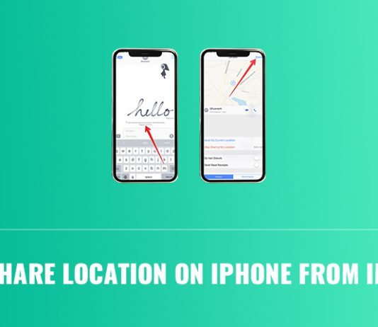 How to Share Location on iPhone from iMessage